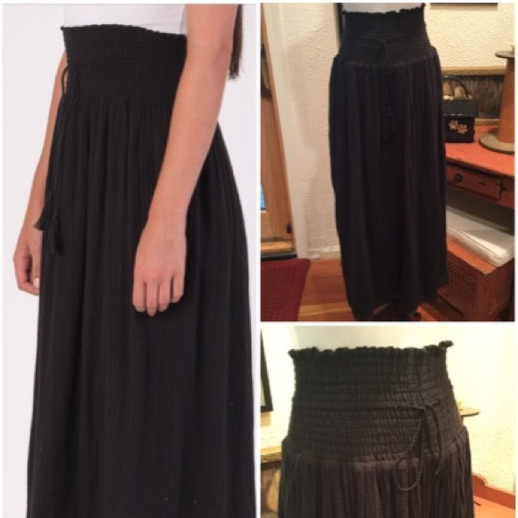 54991dfa0 Margaret O'Leary Skirts | Margaret Oleary Midi Cotton Skirt | Poshmark